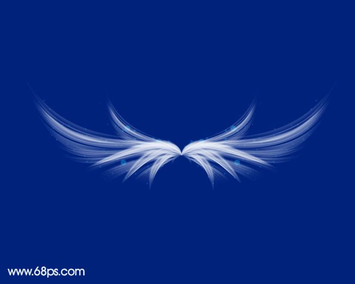 暗白色翅膀素材