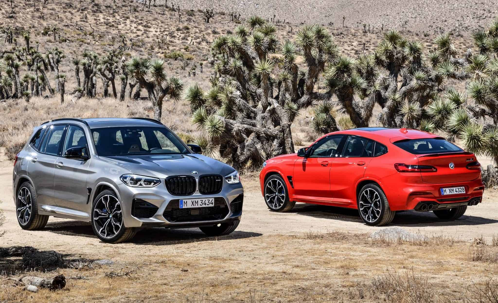 South Africa will only get the more powerful versions of BMW's new performance SUVs.