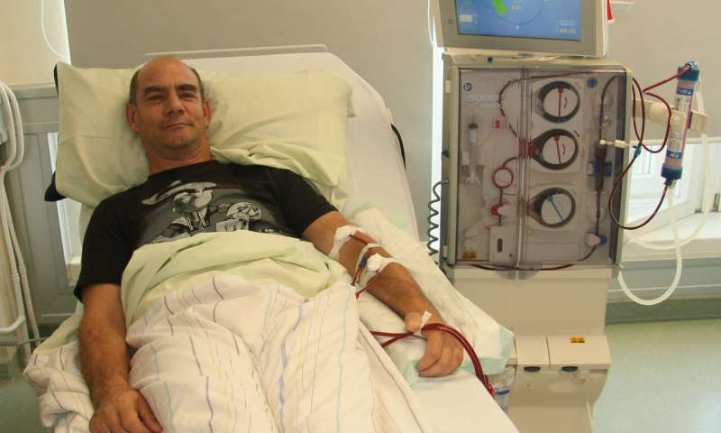 Affordable and mobile purification of dialysis water