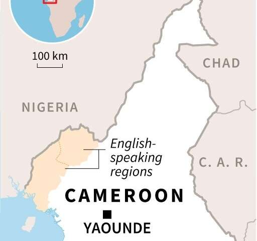 Cameroon's English-speaking regions, which have been rocked by insurgency since 2017