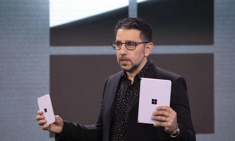 Microsoft previews dual-screen Surface devices out in a year