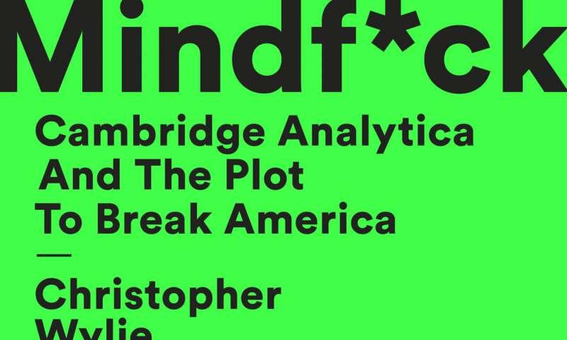 Cambridge Analytica whistleblower has book out next week
