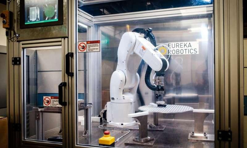 NTU Singapore start-up unveils robot with human-like dexterous grip